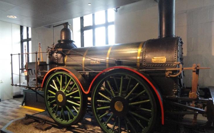 Historické železniční vozy: The Rocket
