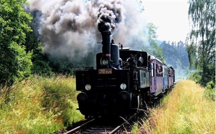 Na Volarsko se vrací parní vlaky Českých drah